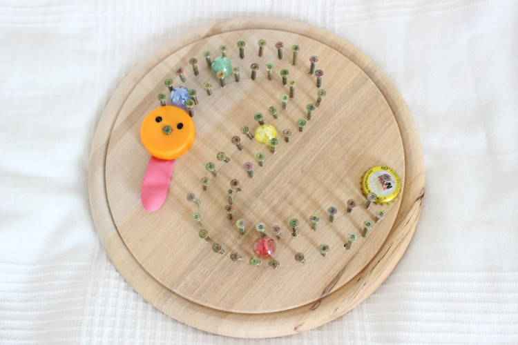 DIY – Werken mit Kindern / Murmelbahn