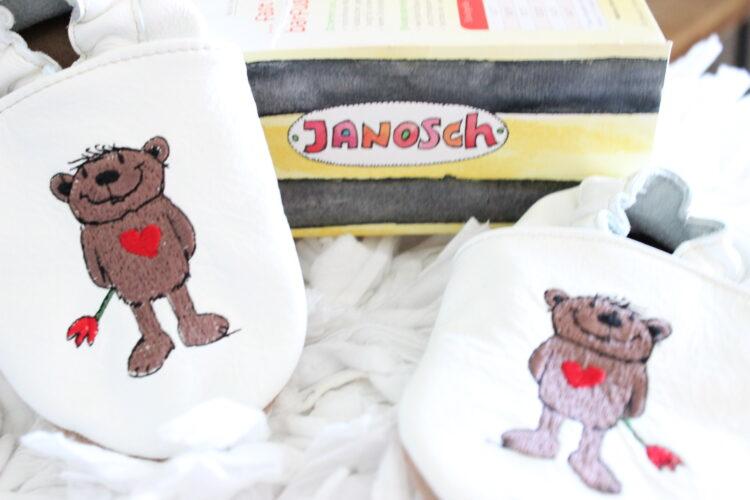 Kids – Krabbelschuhe im Test // Lederpuschen Janosch von HOBEA