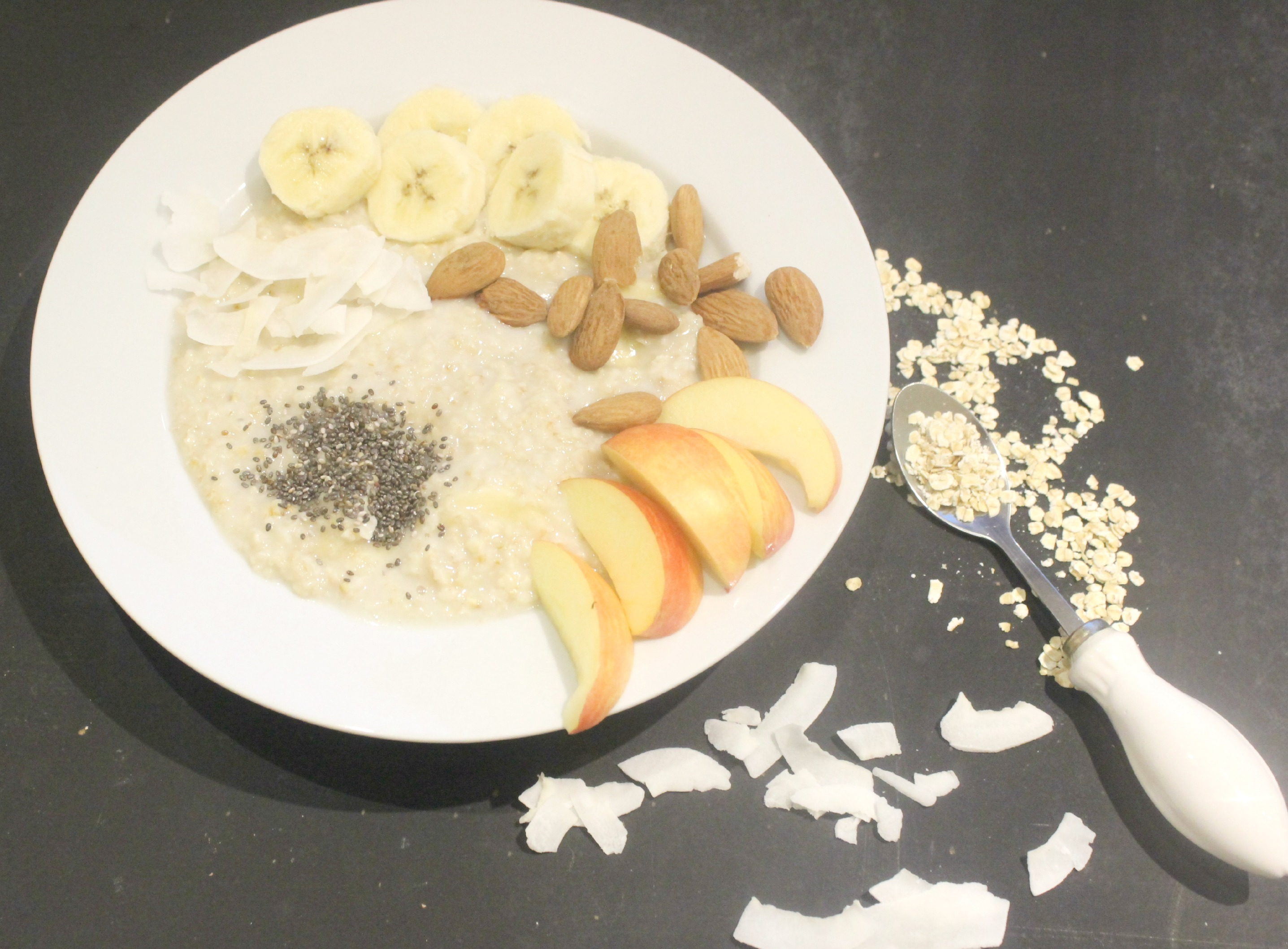 Beauty & Food – der aktuelle Stand meines Abnehm- und Sportvorhabens mit Gymondo und ein leckeres Rezept (Kokosporridge)