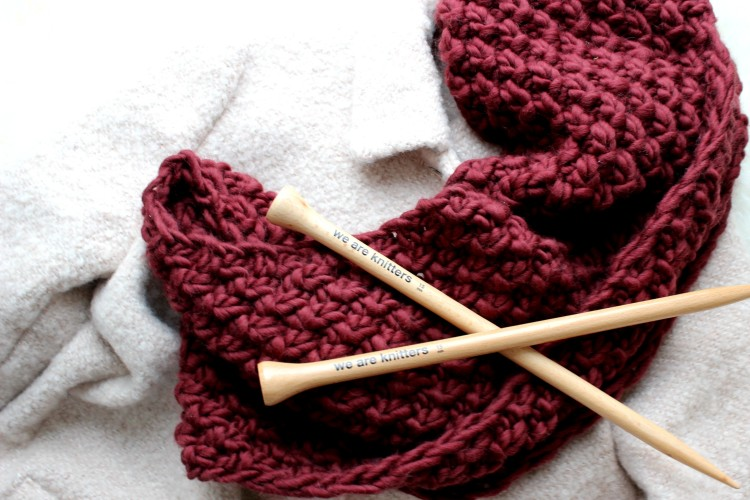 Fashion – weinrot geht immer // we are knitters