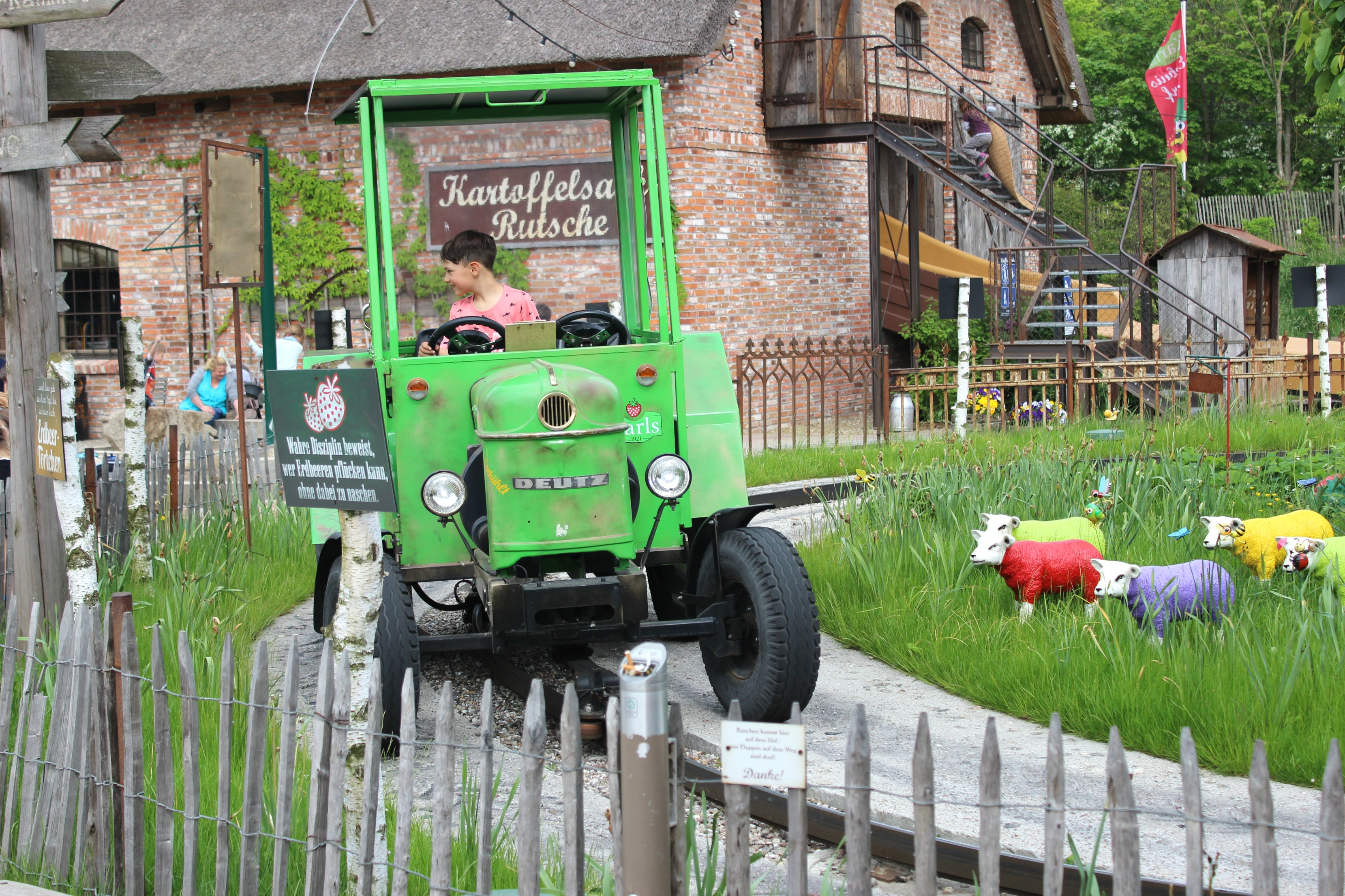 Traktorfahren Karls