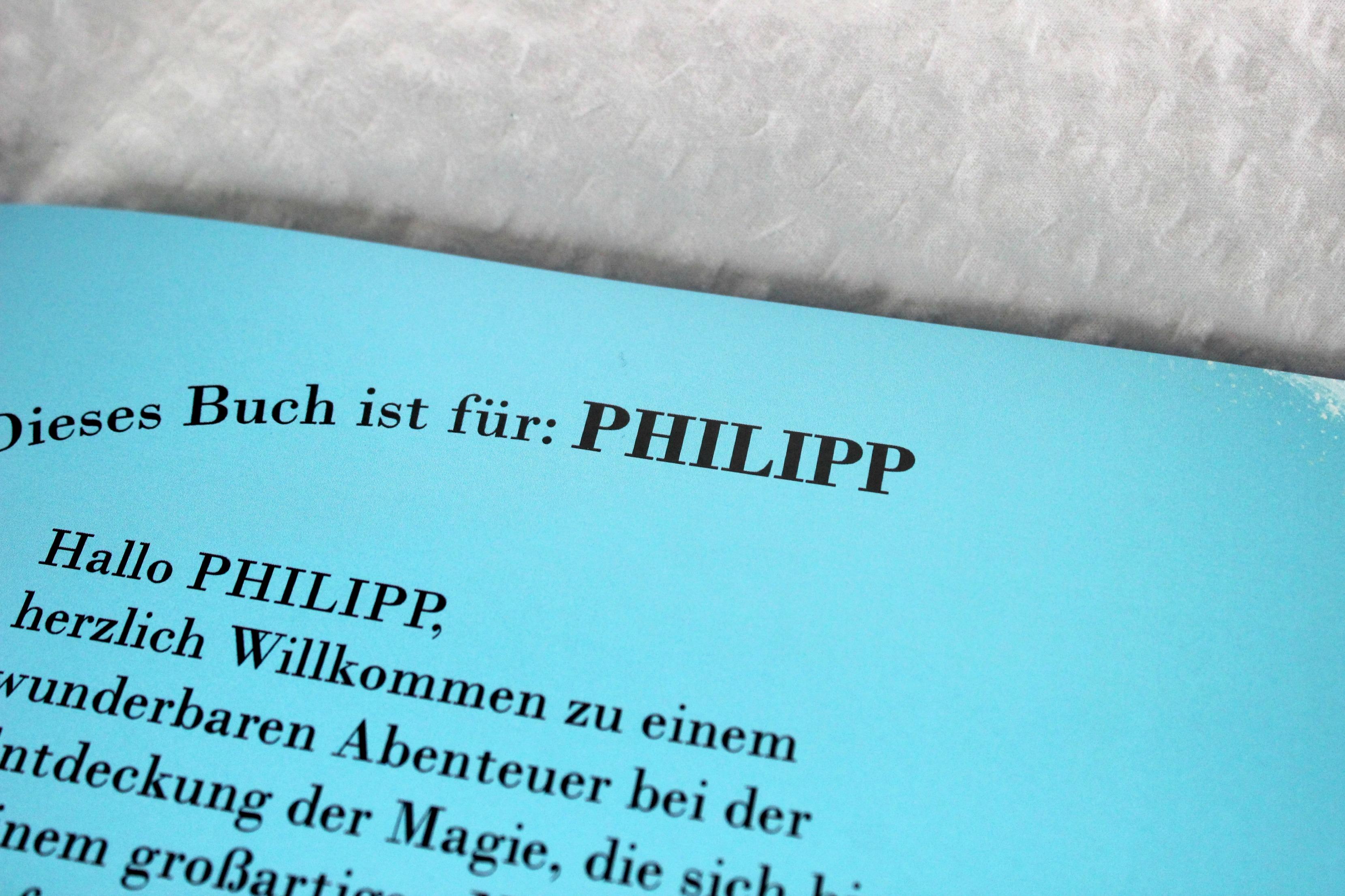 Die Magie Meines Names Personalisiertes Kinderbuch Giveaway