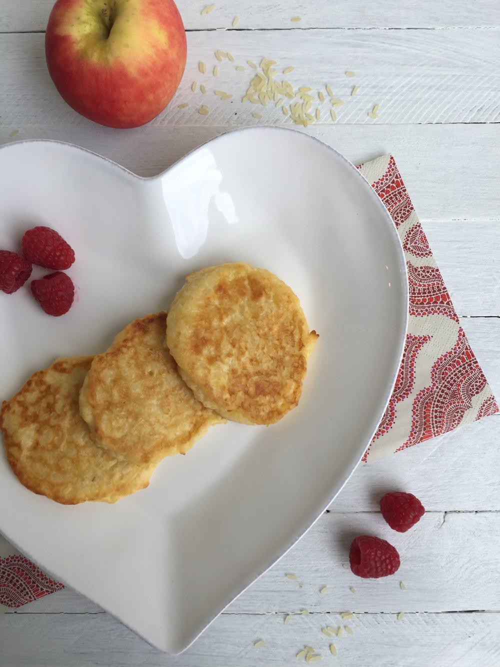 Milchreis Apfel Puffer 1