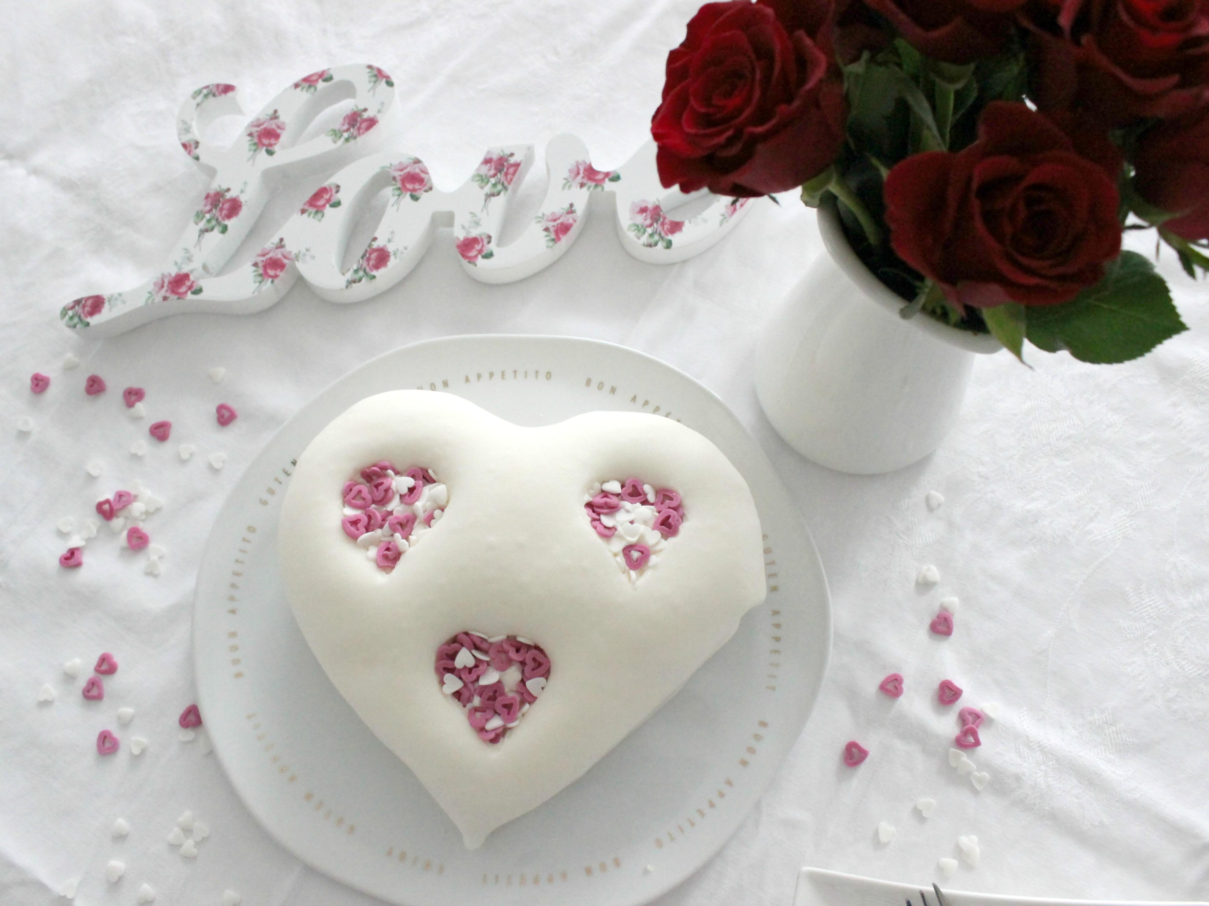 Food U2013 Easypeasy Herztorte Zum Valentinstag