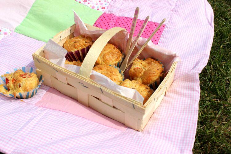 (Deutsch) Food – ein Picknick im Frühling mit den weltbesten Muffins