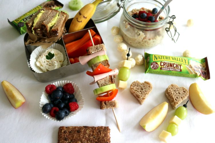Kids – Lunchboxideen zum Schulstart // my happy Lunchbox mit Nature Valley #Anzeige