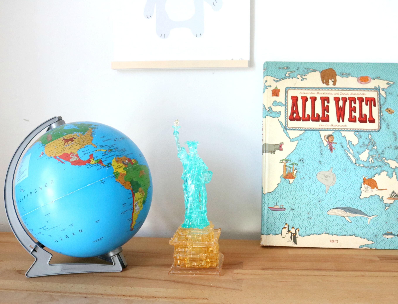 Lifestylemommy deko im kinderzimmer mit 3d chrystal puzzle for Selbstgemachte deko