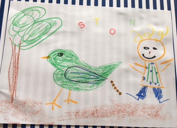 Kinderkunst_fünfjährige_Unternehmerin