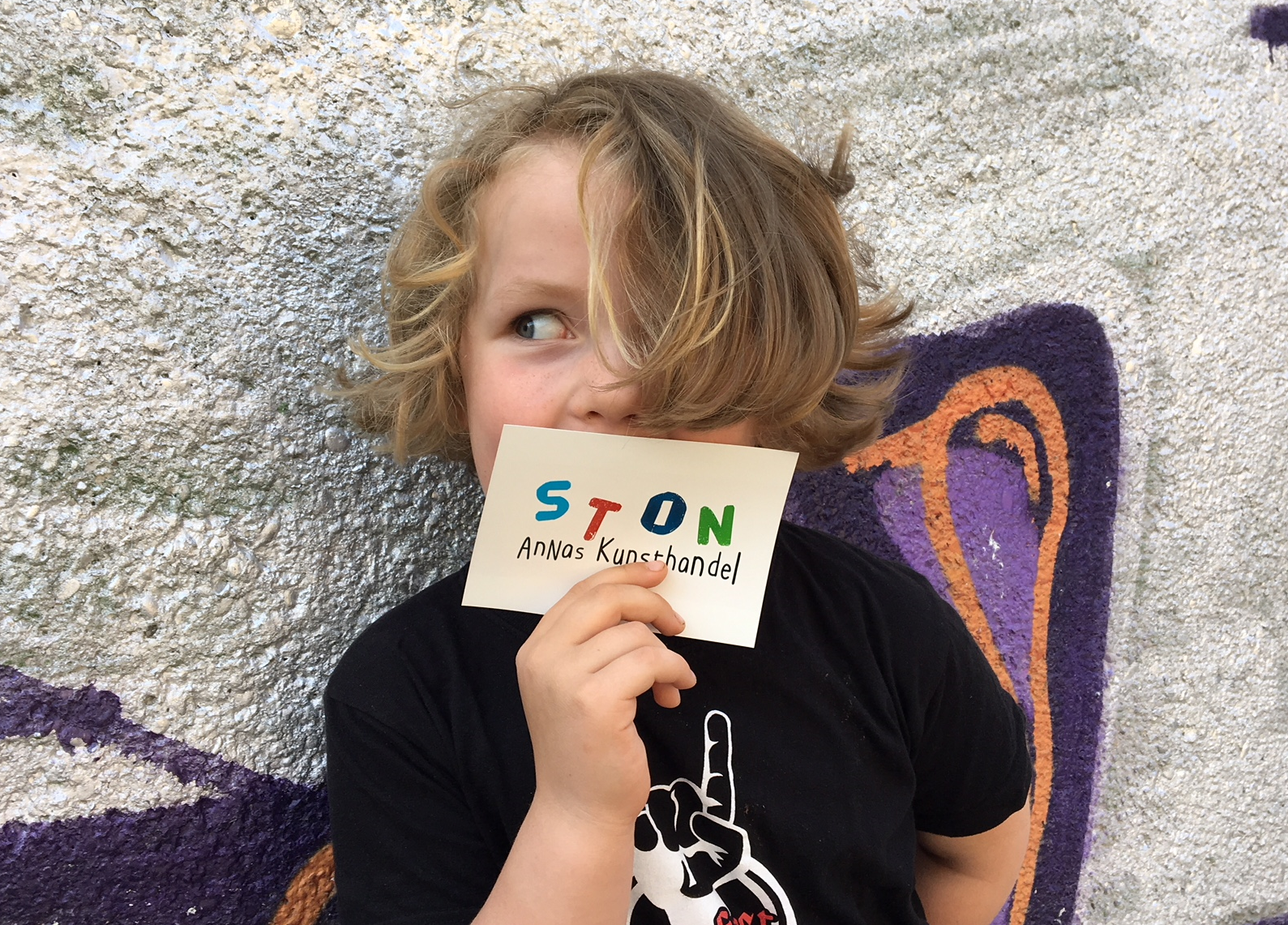 fünfjhährige Unternehmerin