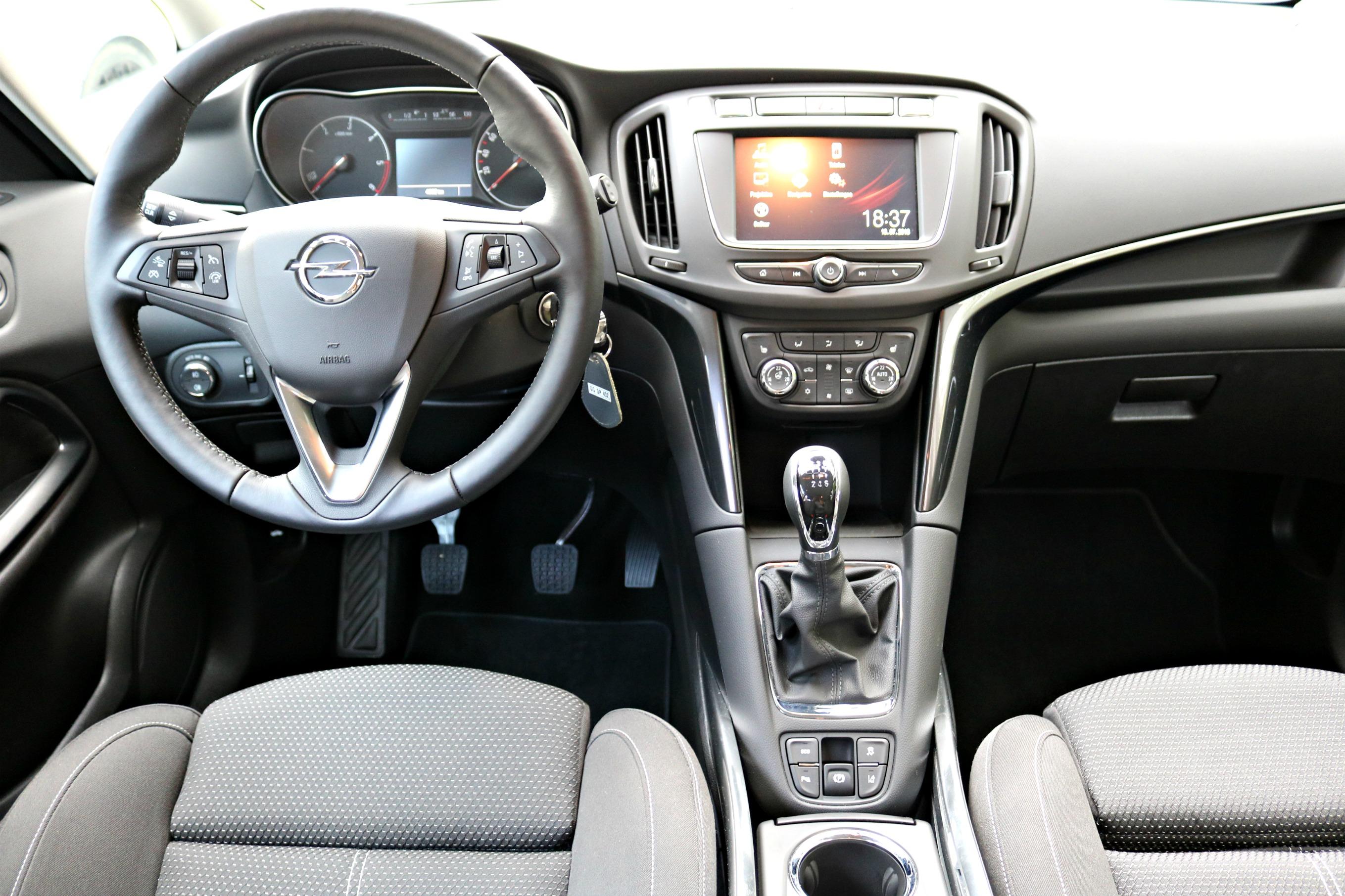 Opel_Zafira_Innenausstattung