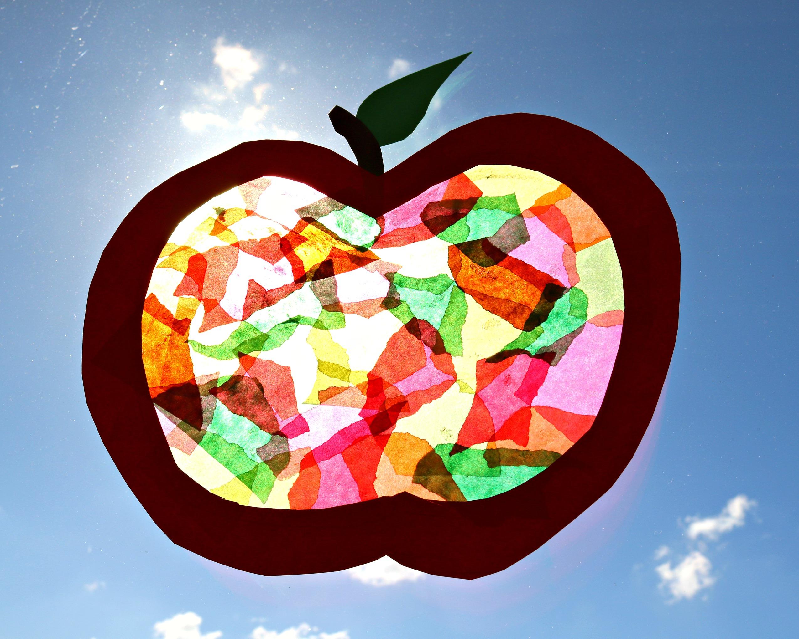 Apfelfensterbild