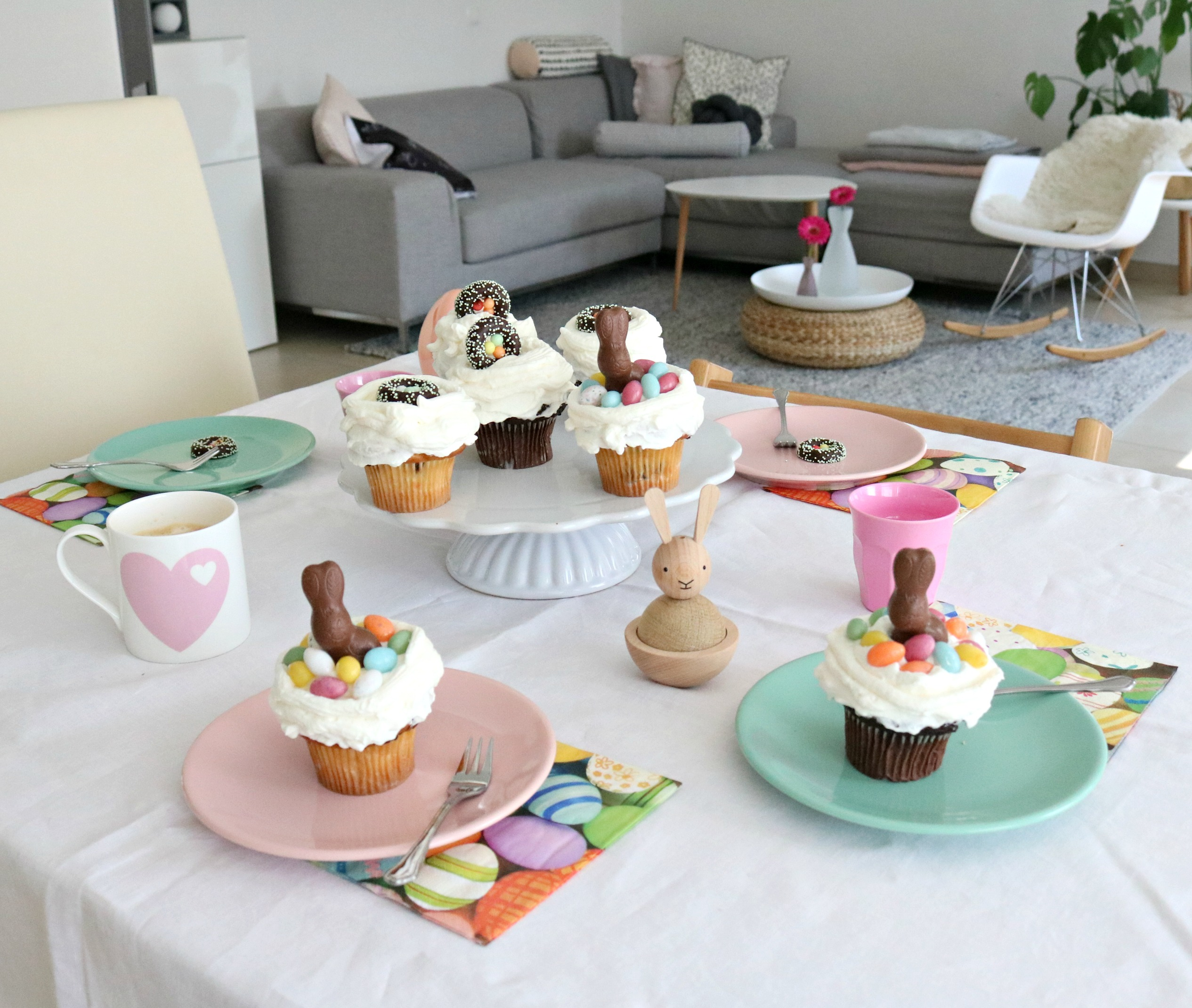 schnelle Oster-Cupcakes