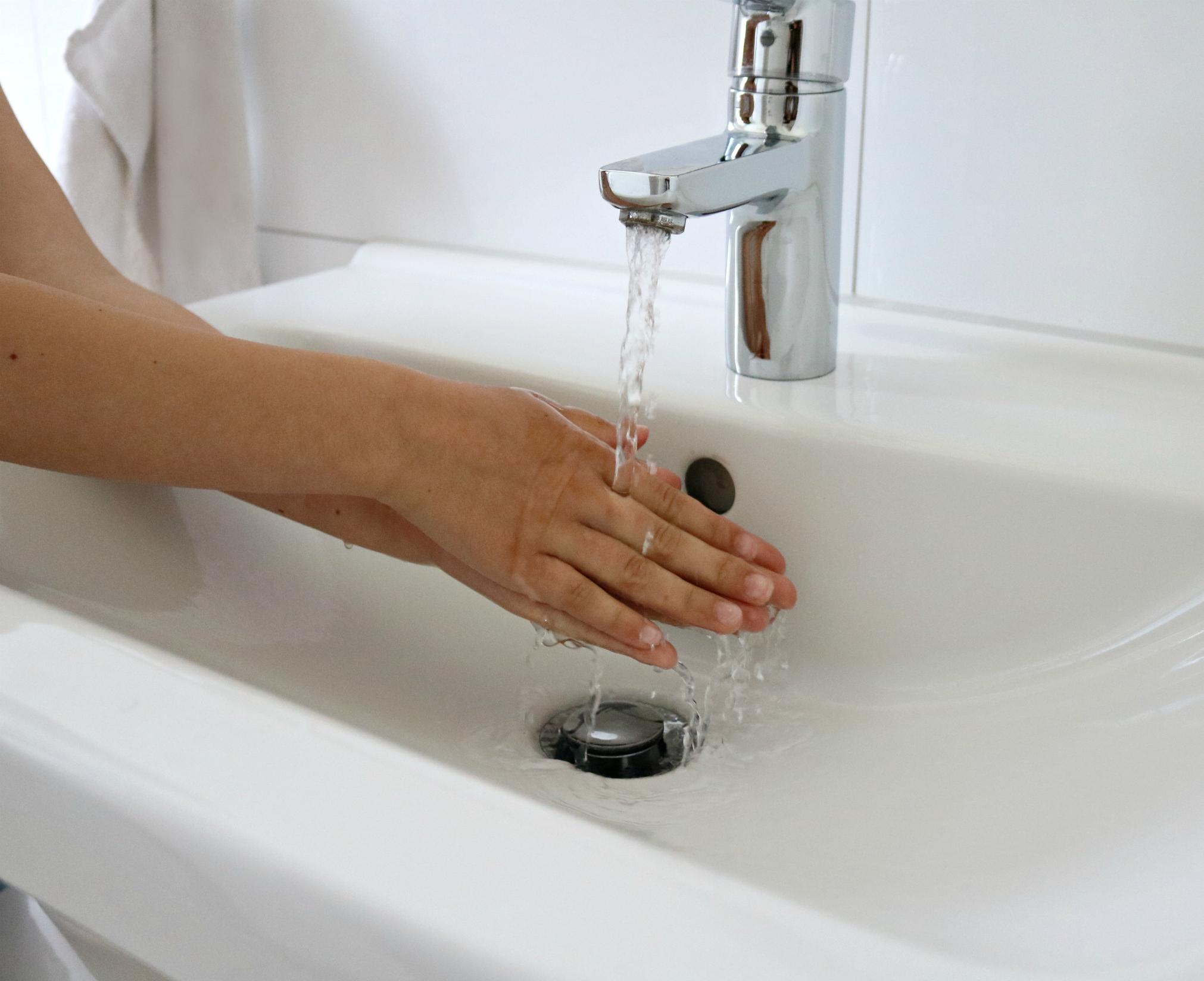 weiches Wasser für Kinderhaut