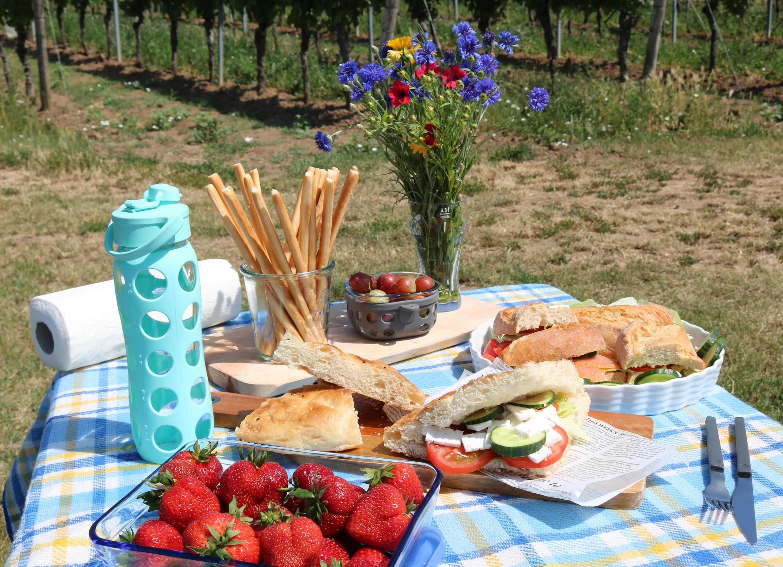 Picknickideen für die Reise