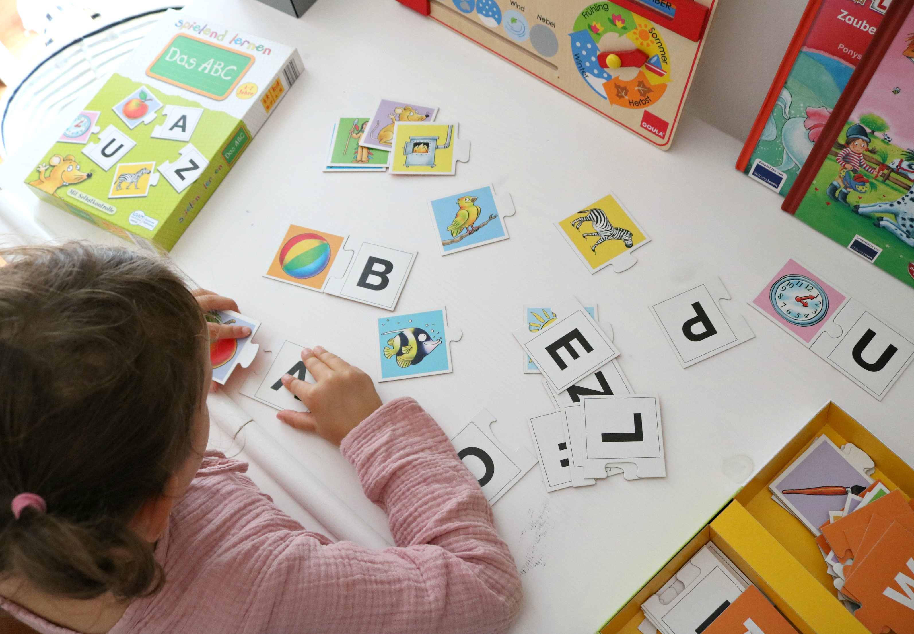 Buchstabenpuzzle Vorschule width=