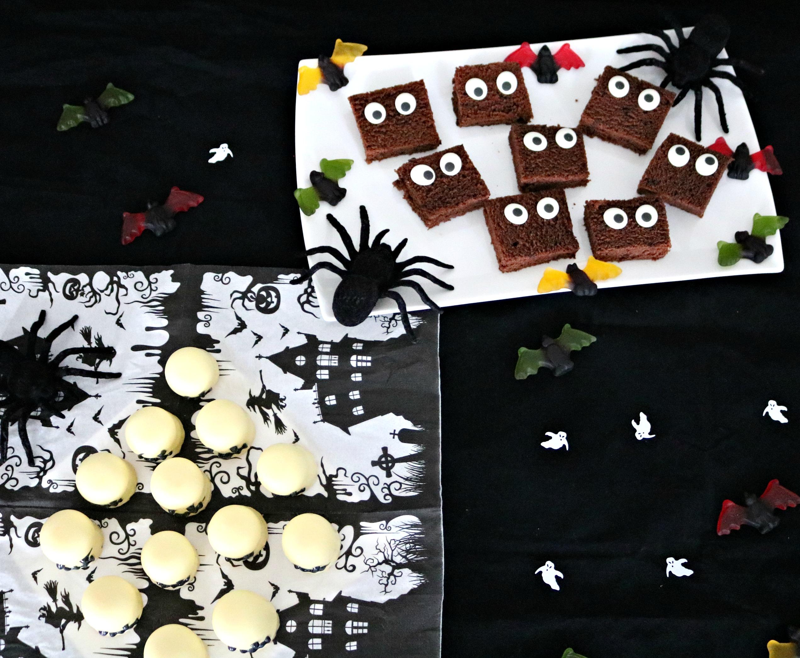 Monsterkuchen für Halloween