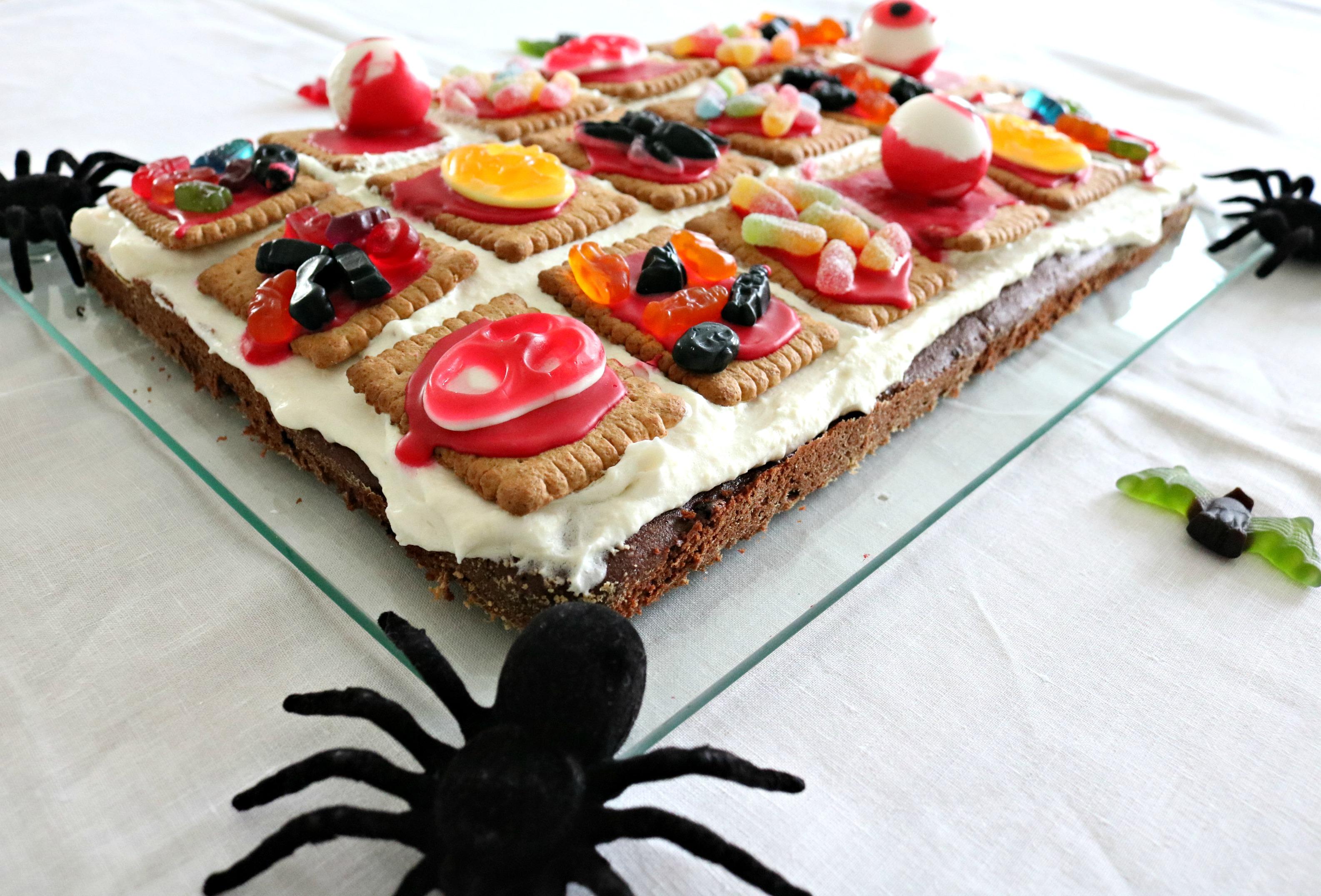 Gruselkuchen Happy Halloween