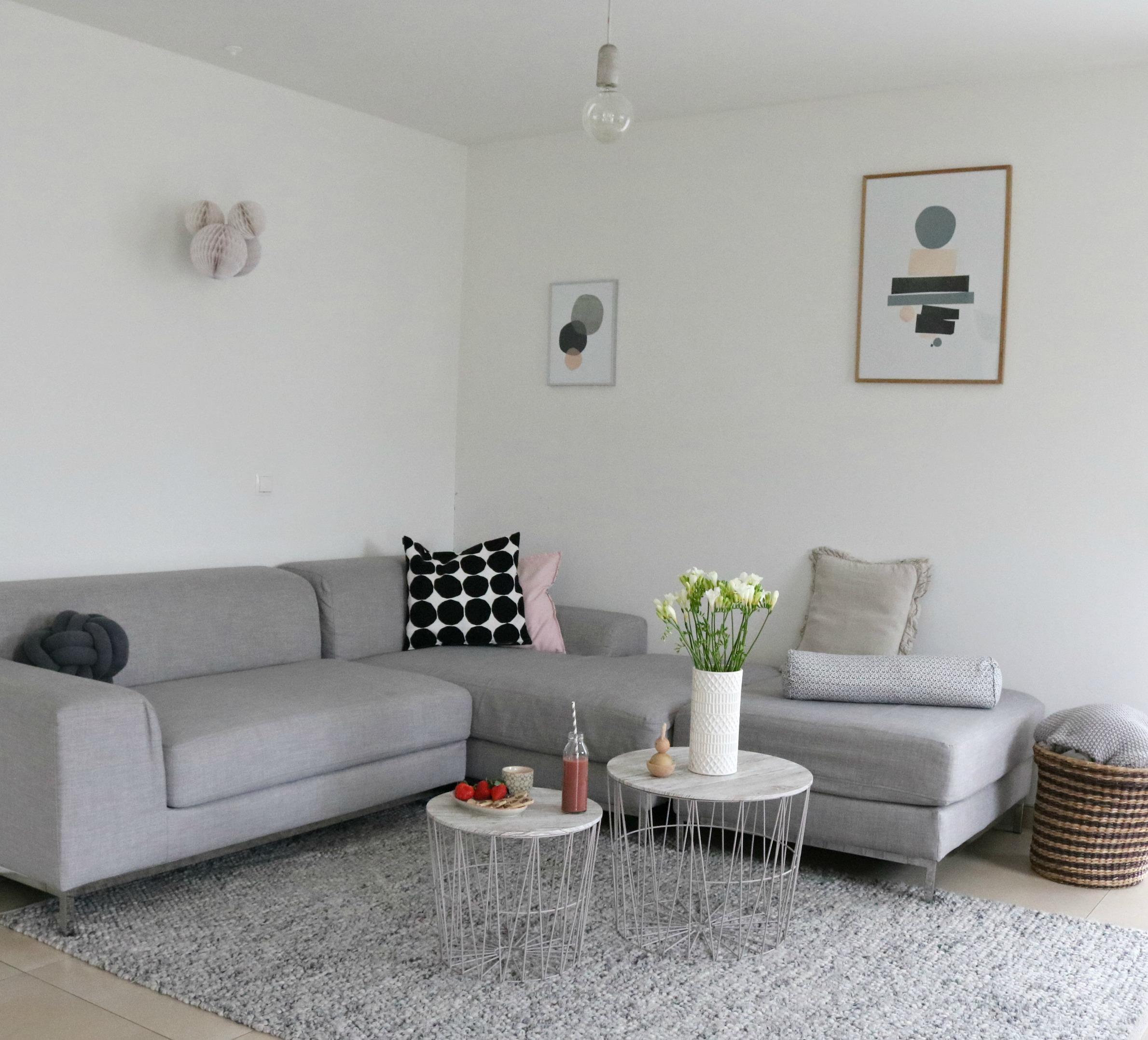 luftiges Wohnzimmer